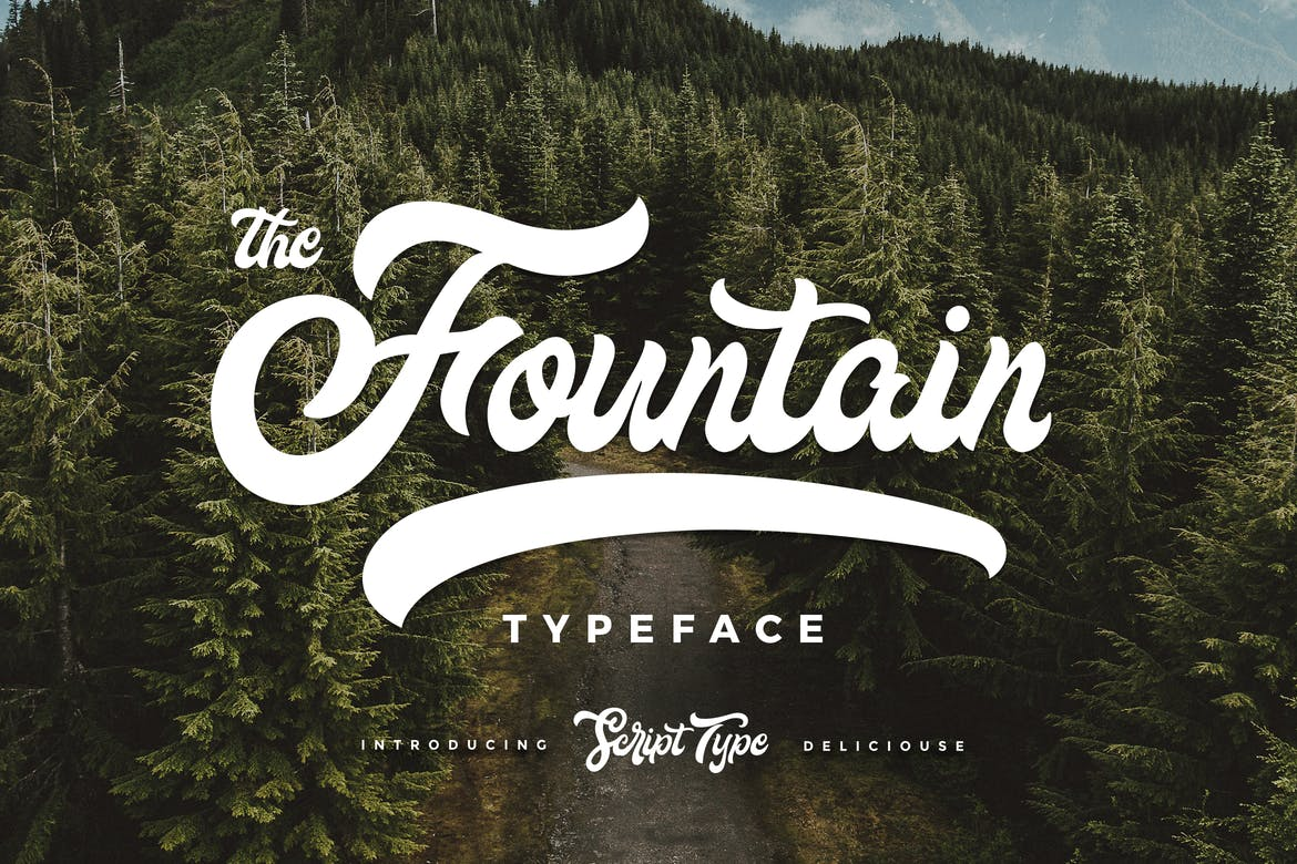 Fountain Type - fonts for web