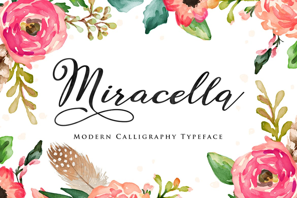 Miracella Script - fonts for web