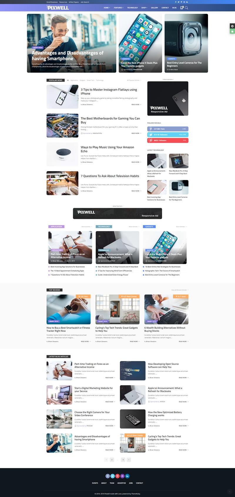 Pixwell - Best WordPress Themes