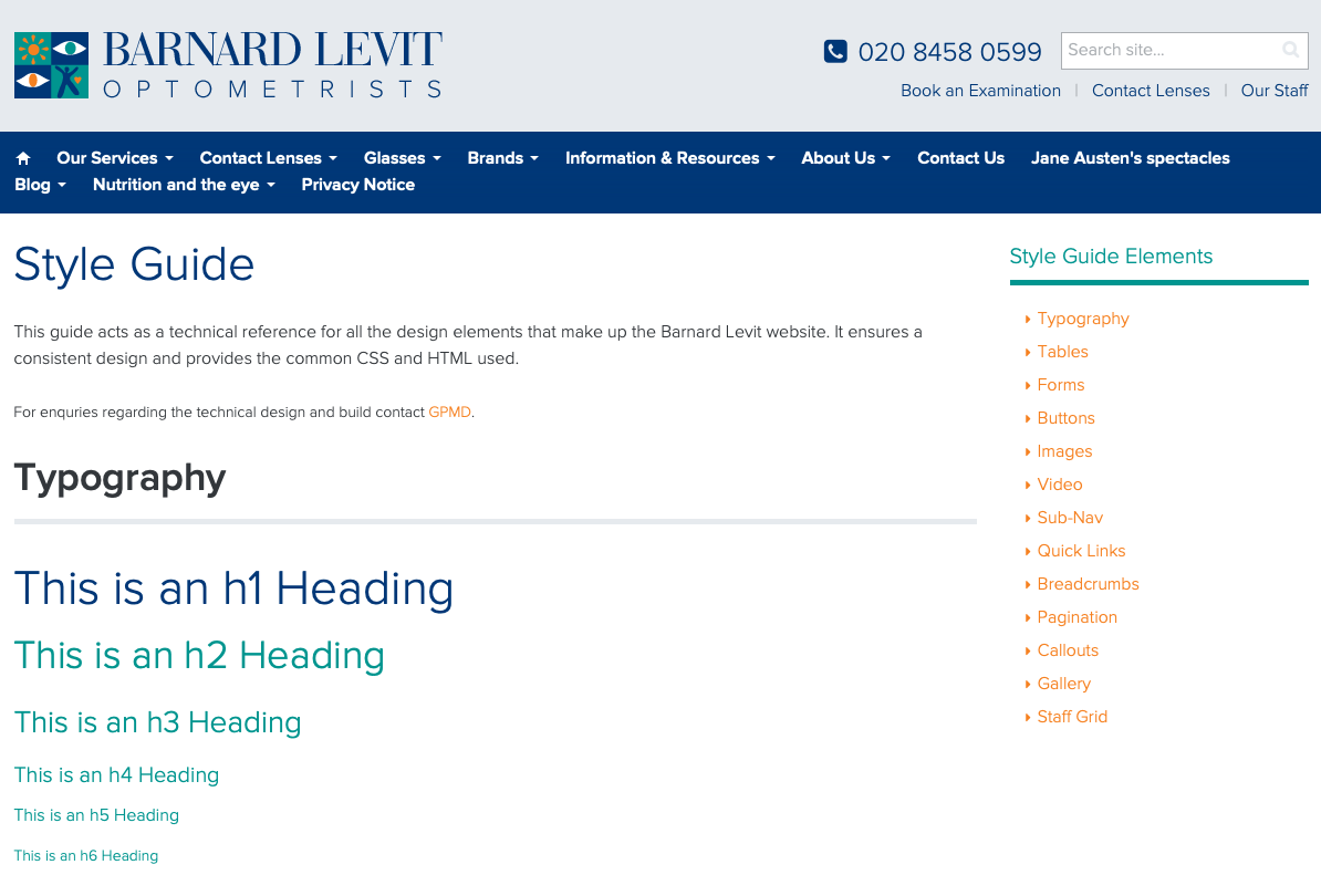 Barnard Levit Optometrists