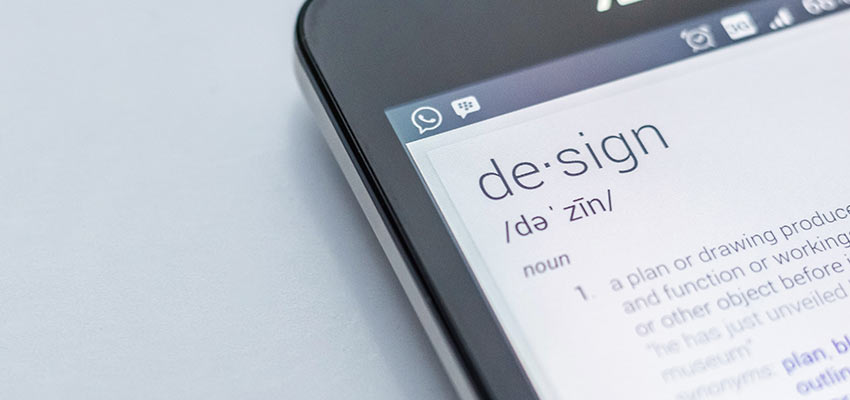 A mobile phone - Adaptive vs. Responsive Web Design