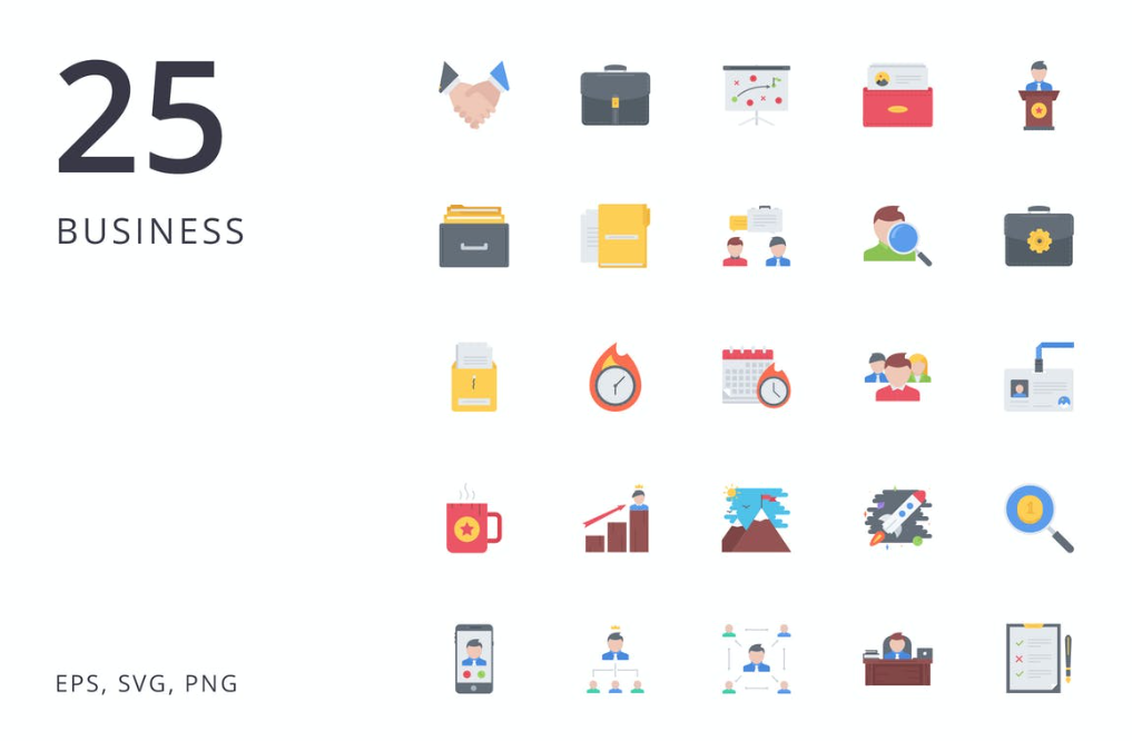 Business Icon Set - Business 25