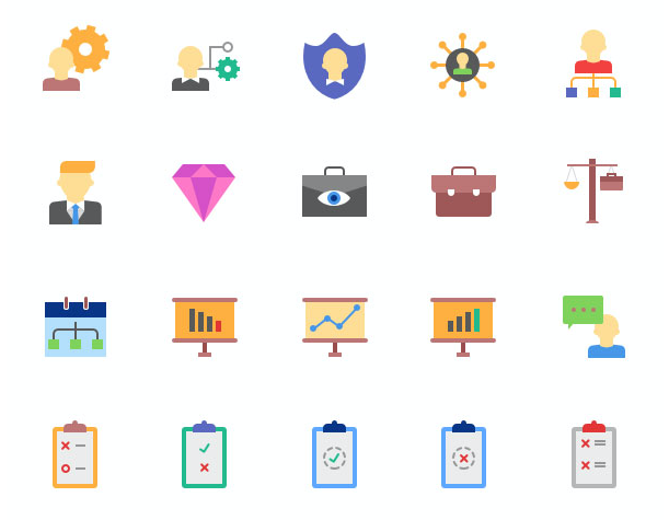 Business Icon Set - Magicons