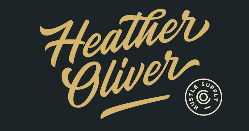 Heather Oliver - modern fonts 2020