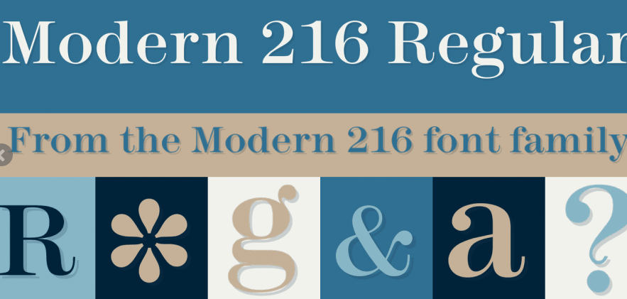 Modern 216