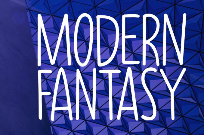 Modern Fantasy - modern fonts 2020