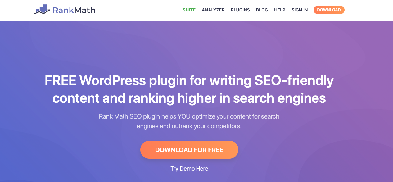 RankMath - WordPress SEO plugins