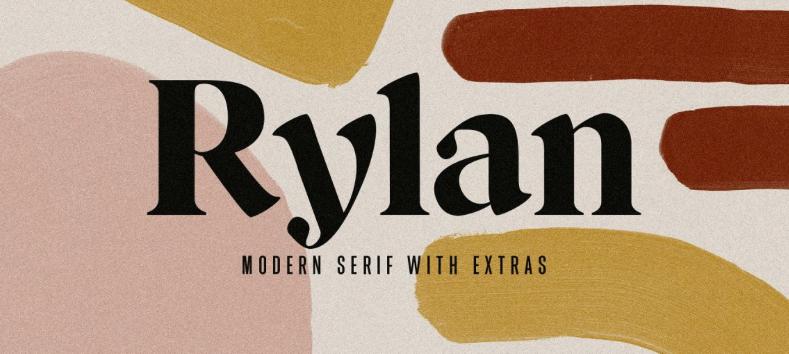 Rylan - modern fonts 2020