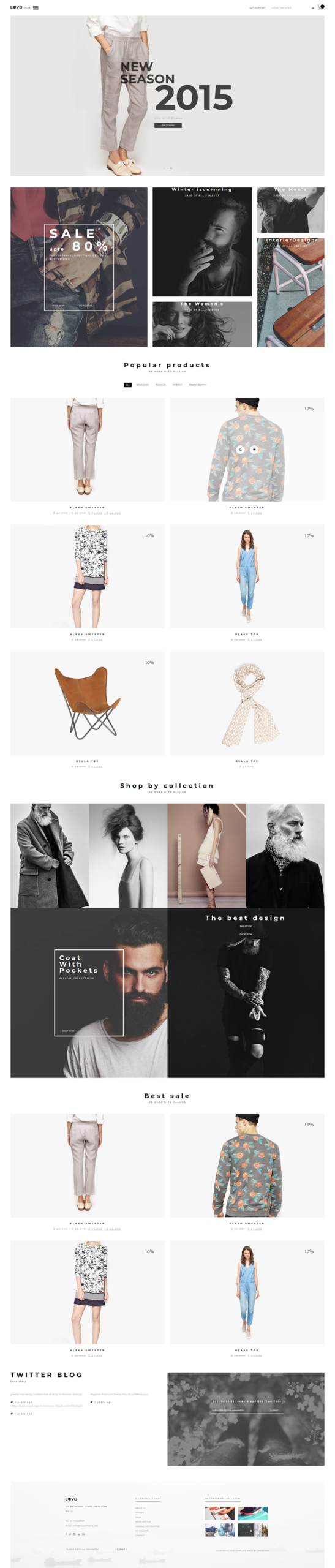 EOVO - Ecommerce Themes for WordPress