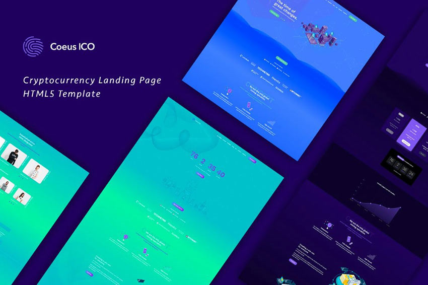 Coeus Landing Page Template