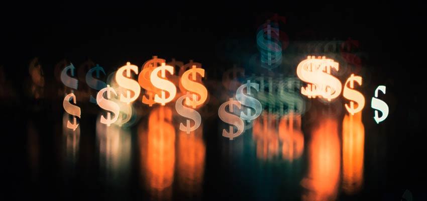 Dollar signs.