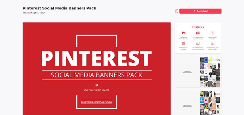 A Social Media Resource from Envato Elements.