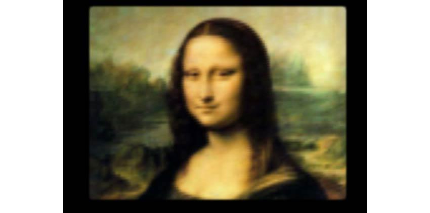 Example of Mona Lisa