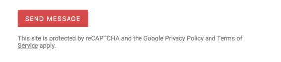 reCAPTCHA message