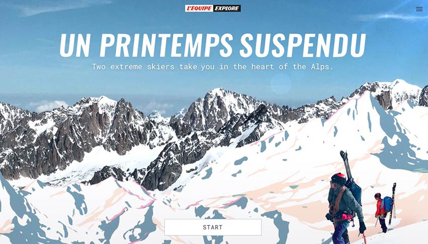 Example from Un printemps suspendu
