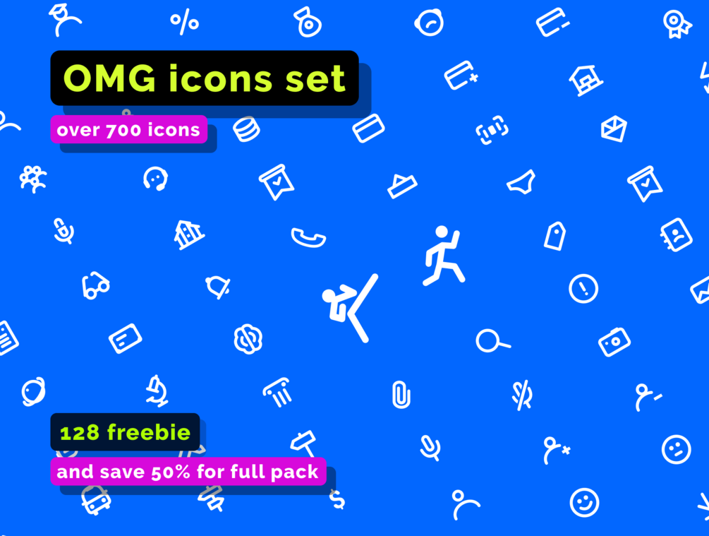 Free Minimal Icon Sets - OMG
