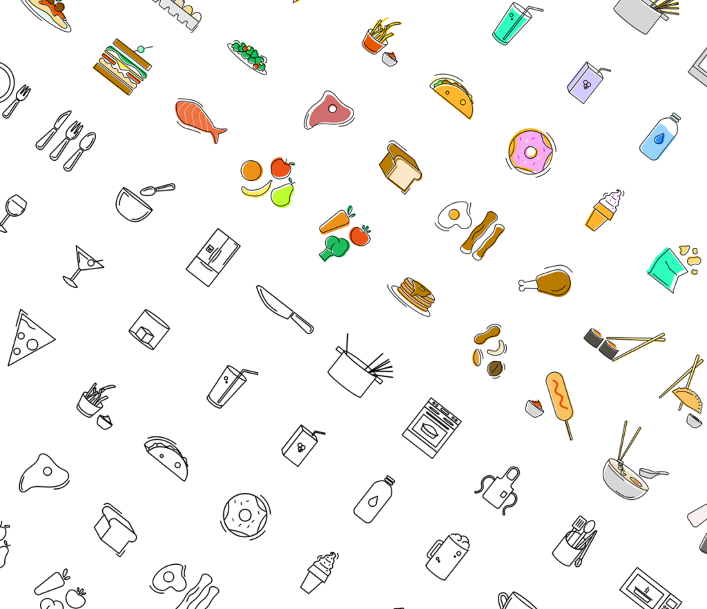 Free Minimal Icon Sets - Food & Beverage