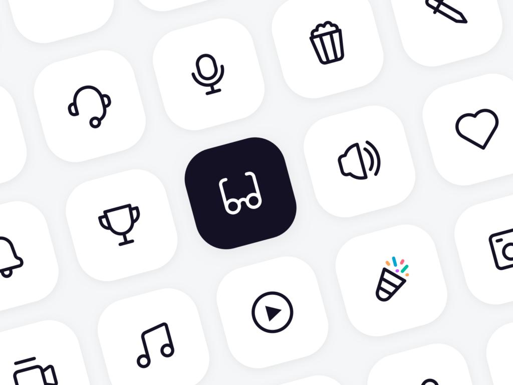 Free Minimal Icon Sets - 126