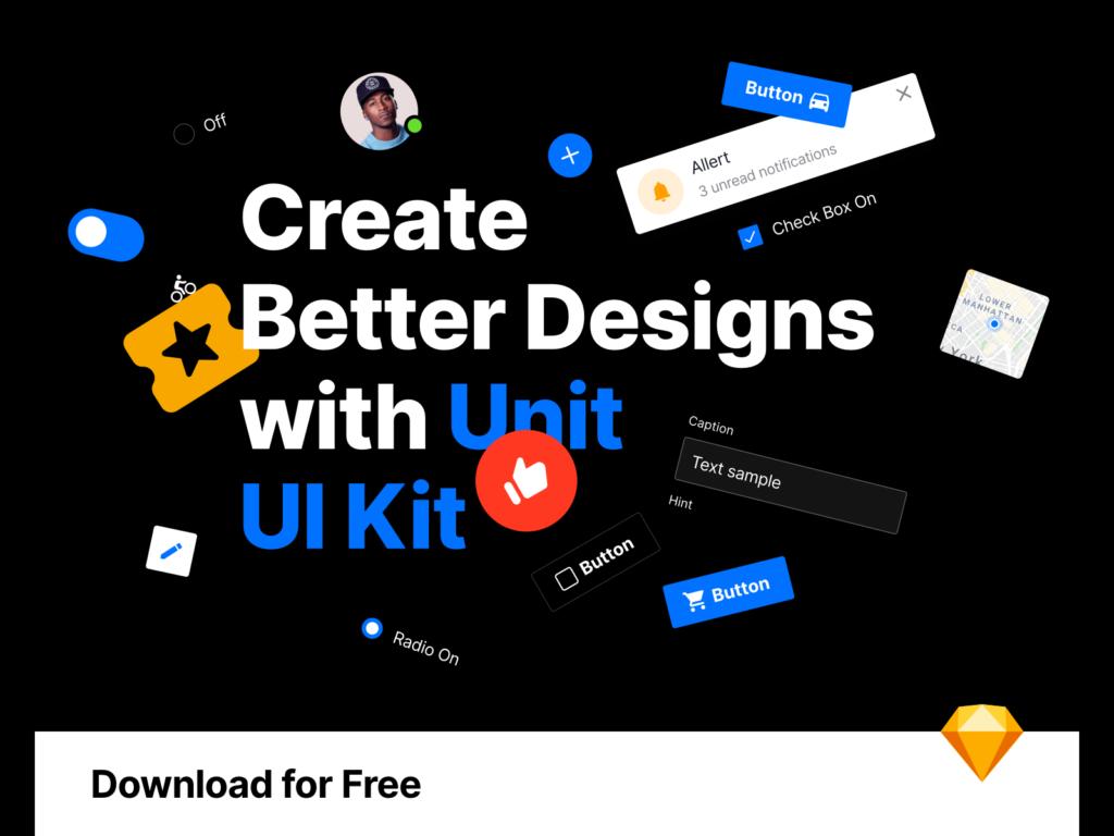 Unit – Free UI Kit