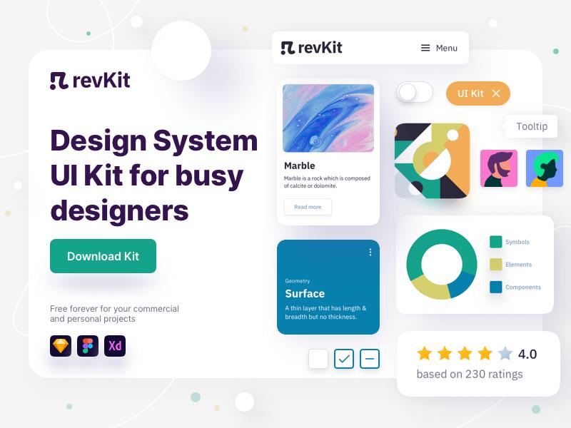 RevKit - Design System UI Kit