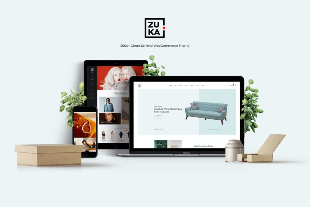 Top WordPress Themes - Zuka