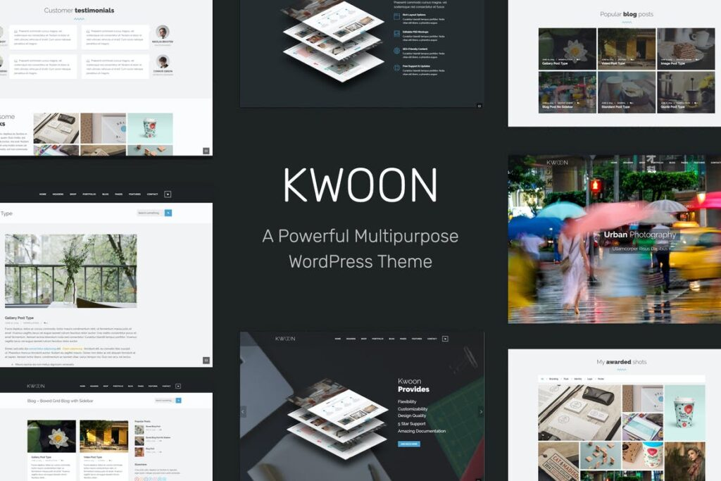 Kwoon - Multipurpose WordPress Theme