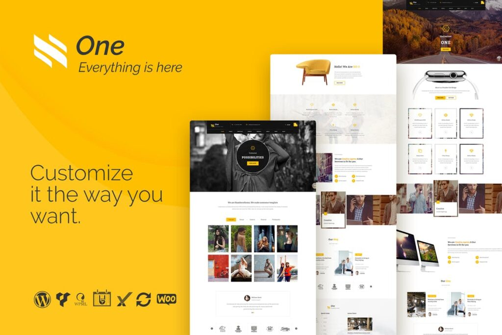 Top WordPress Themes - One
