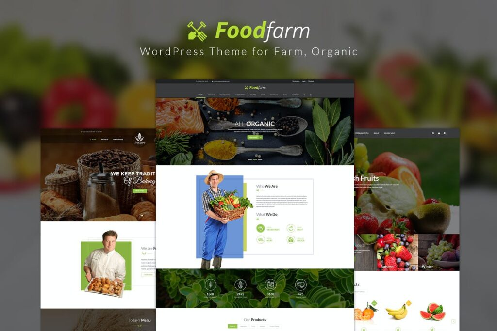 Top WordPress Themes - FoodFarm