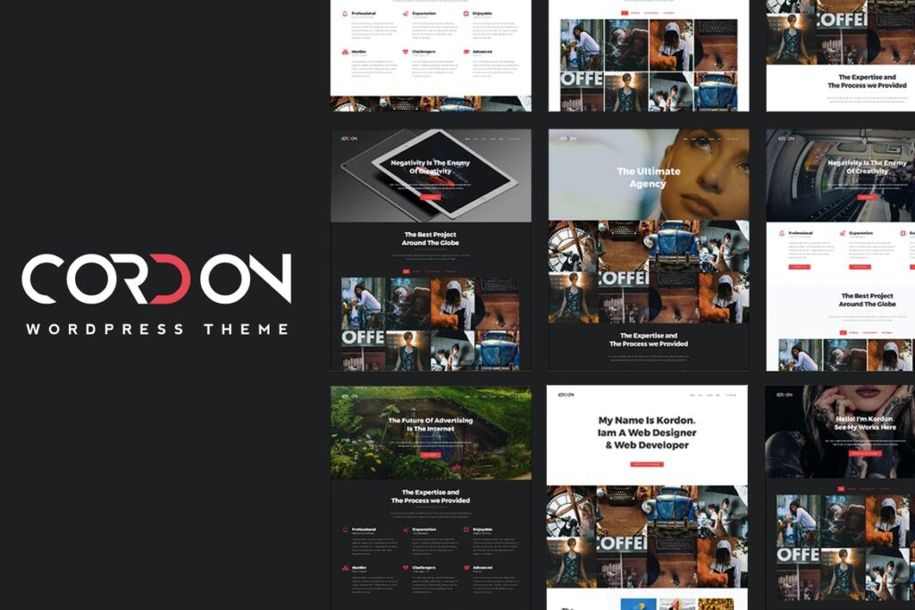 Top WordPress Themes - Cordon