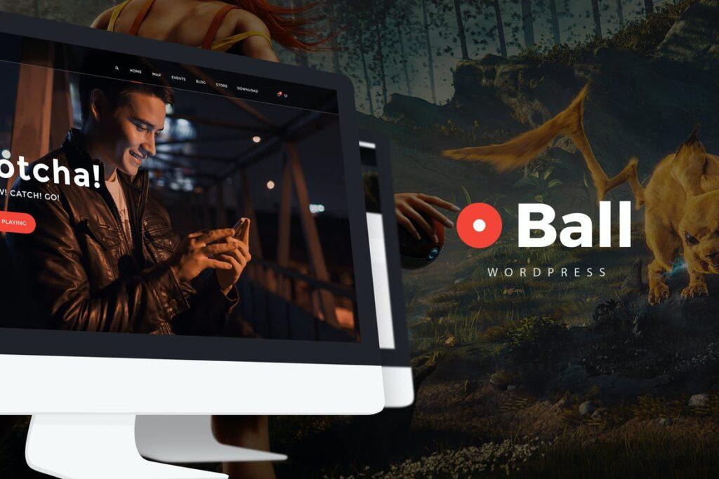 Top WordPress Themes - Ball