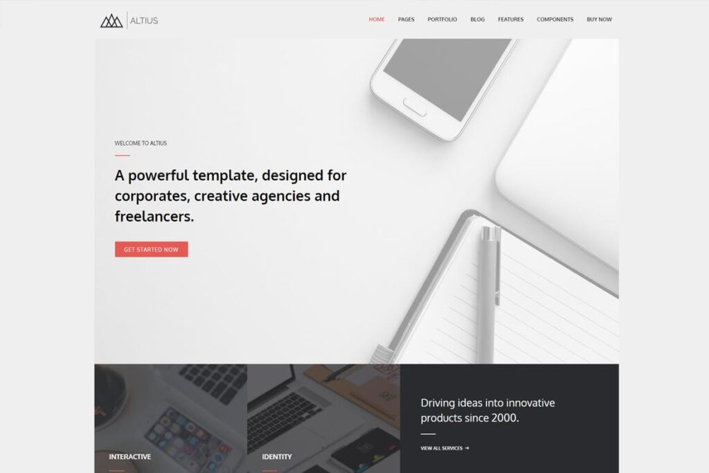 Altius - Multi-Purpose WordPress Theme