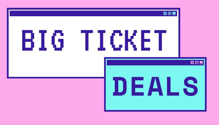 Prime Day 2020 - Big Ticket Deals