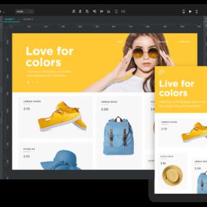 Justinmind - Prototyping tool