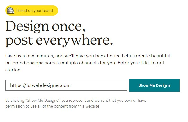 Mailchimp's Creative Assistant - Step 1