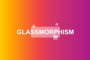 Glassmorphism examples