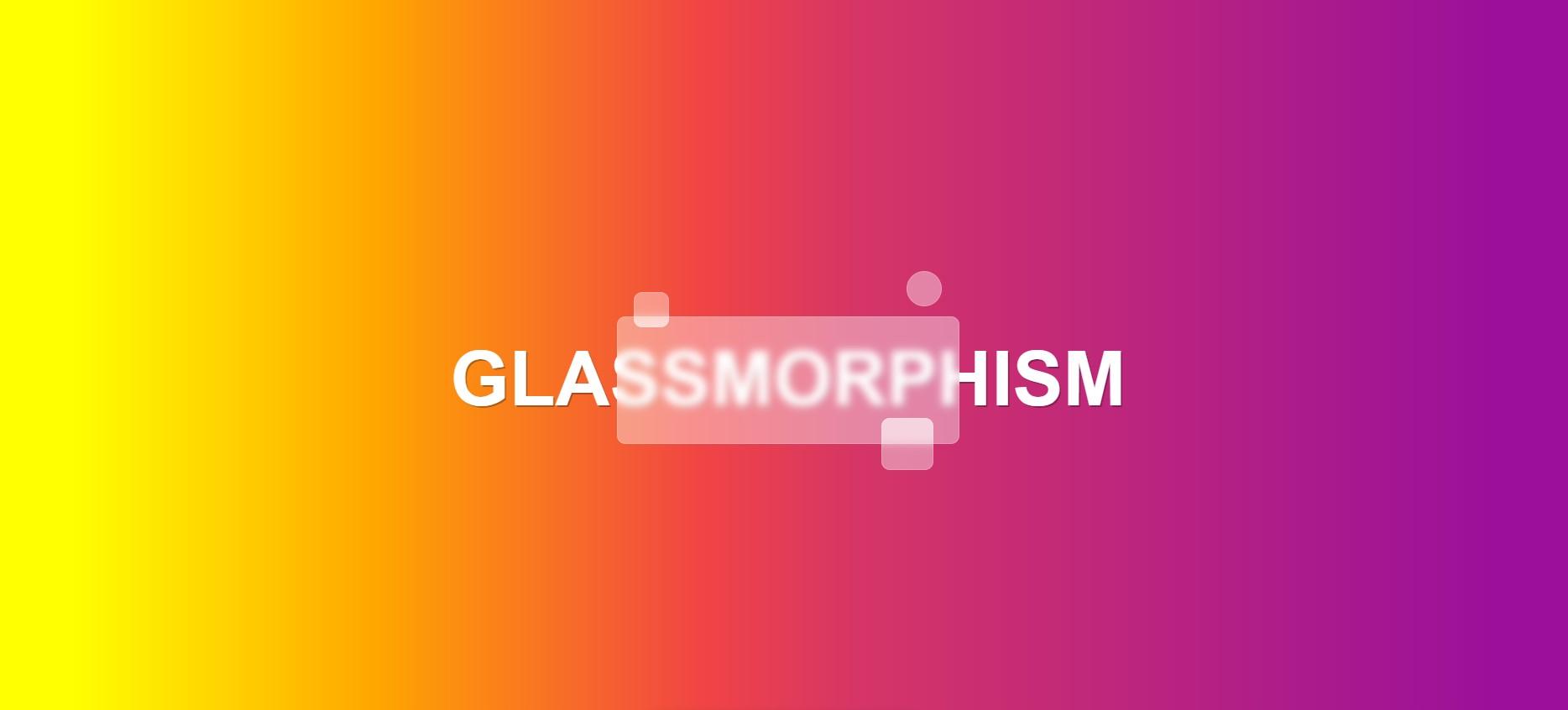 10 Beautiful Glassmorphism Examples - 1stWebDesigner