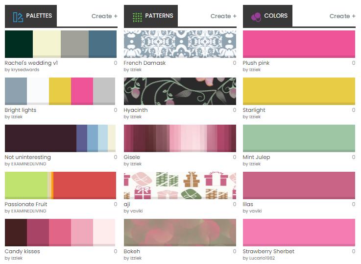 COLOURlovers - color palette generator