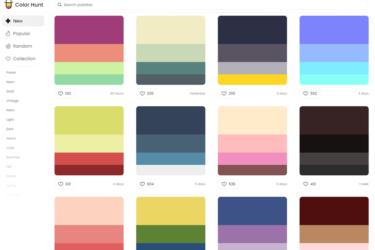 Color Hunt - color palette tool