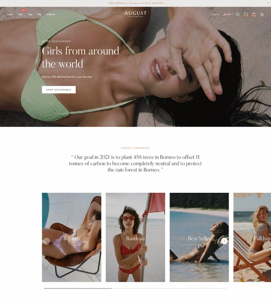 August - Multipurpose Shopify Theme