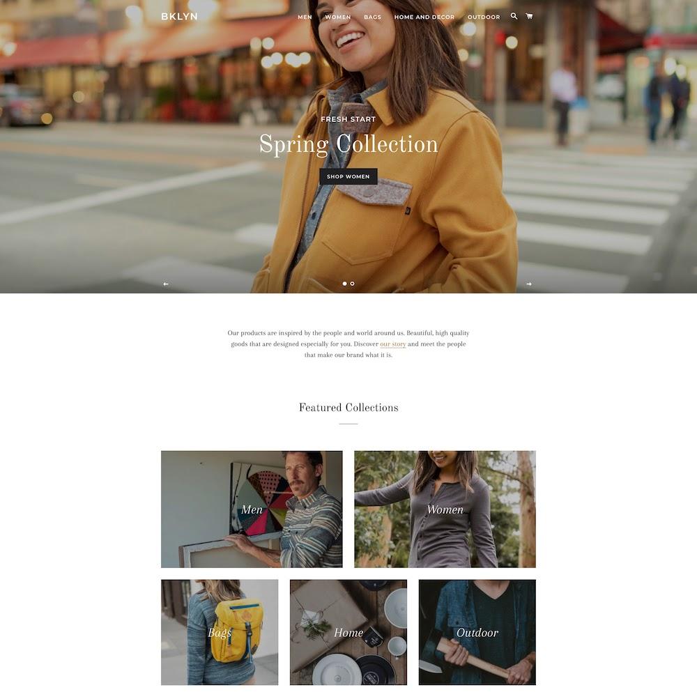 Brooklyn Free Shopify Theme