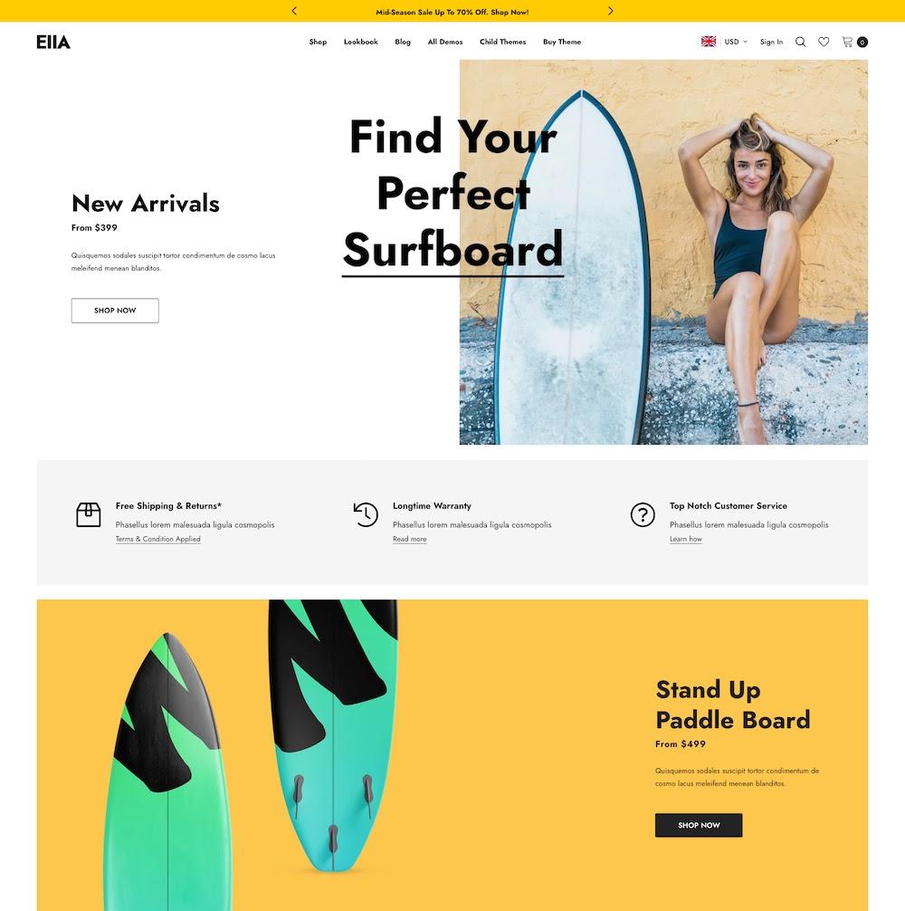 Ella Multipurpose Shopify Theme