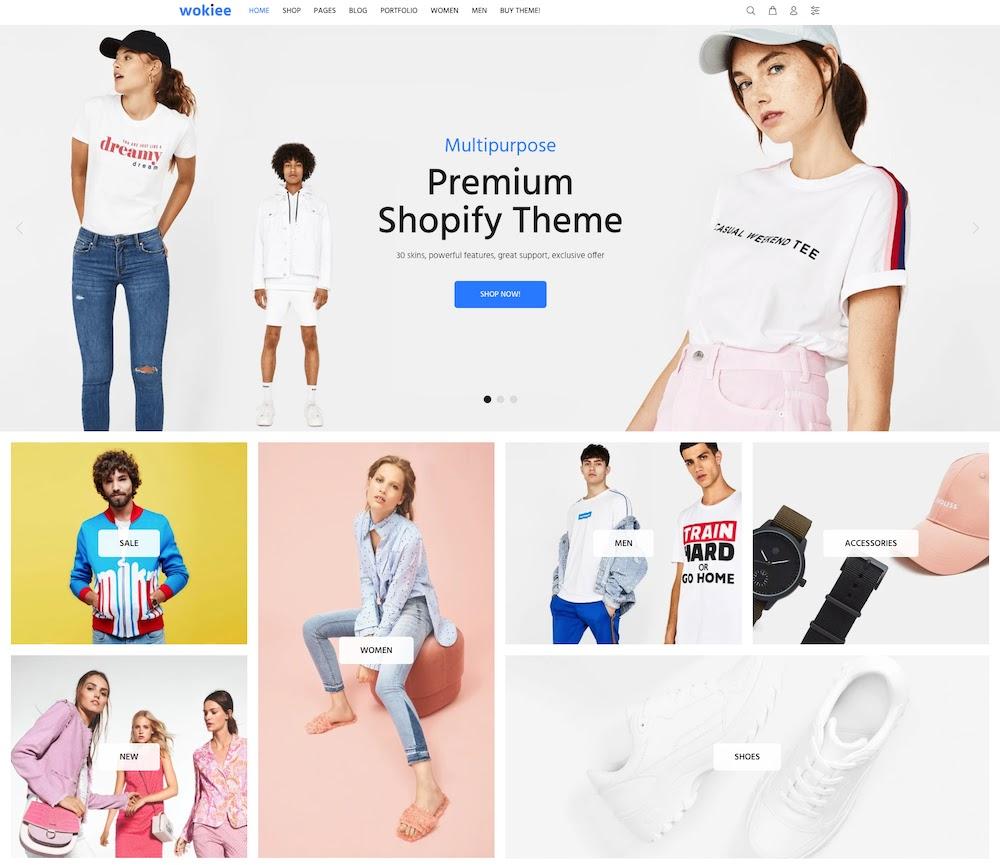 Wookie Multipurpose Shopify Premium Theme