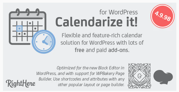 Calendarize it! WordPress Calendar Plugin