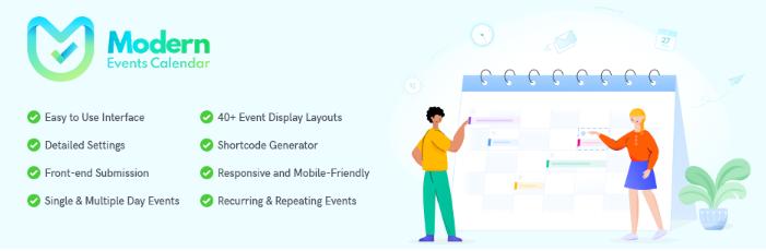 Modern Events Calendar Lite - WordPress Calendar Plugins