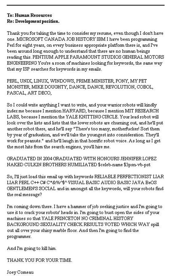 Funny Resume  Dance Resumeresume Prime